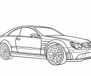 Coloring pages Mercedes class C