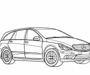 Coloring pages Mercedes GLC model
