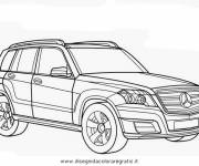 Free coloring and drawings Mercedes MI class Coloring page