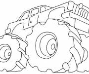 Coloring pages Monster Pickup