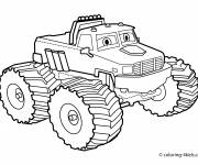 Coloring pages Monster Truck coloring for free