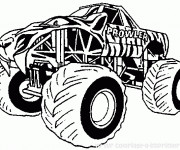 Coloring pages Monster Truck Prowler