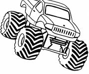 Coloring pages Monster Truck to download