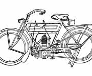 Coloring pages Motorcycle 7