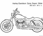 Coloring pages Motorcycle drawing