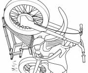 Coloring pages Motorcycle free coloring