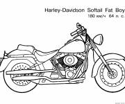 Coloring pages Motorcycle to color
