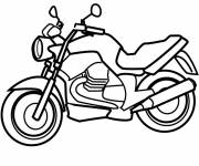 Coloring pages High speed motorcycles