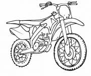 Free coloring and drawings Motocross coloring Coloring page