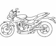 Coloring pages Motorbike Transport