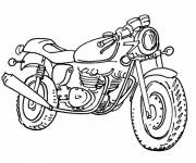 Coloring pages Motorcycle online free