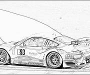 Coloring pages Realistic sports car