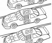 Coloring pages Cars Prepare for Race