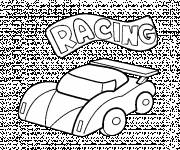 Coloring pages Children's Small Race Car