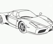 Free coloring and drawings Ferrari F12 car Coloring page
