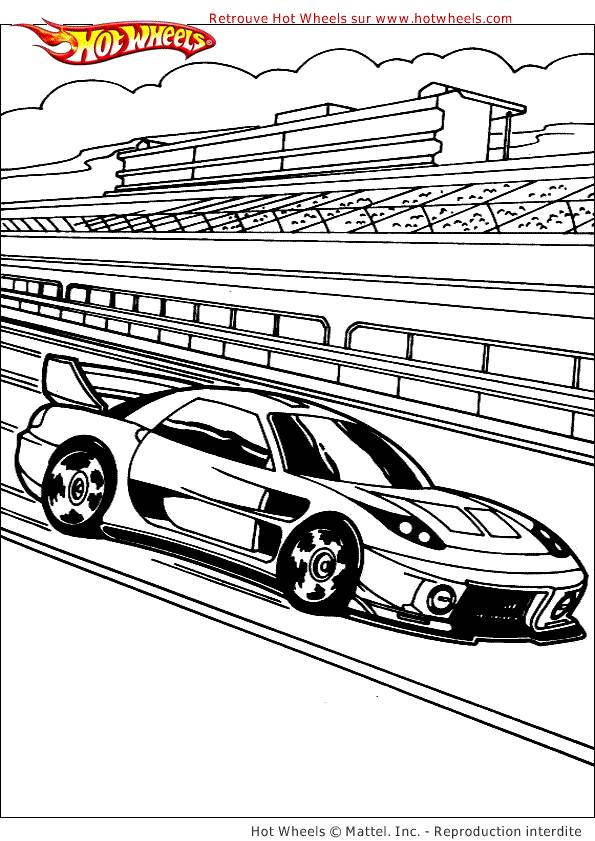 Free coloring and drawings Nascar Race Car Coloring page