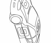 Coloring pages Rally car