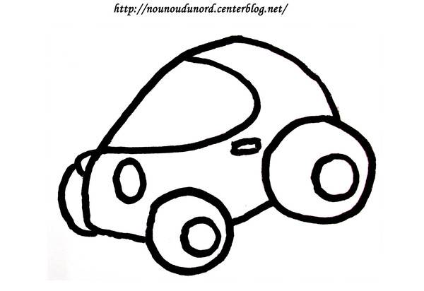 Free coloring and drawings Single Race Car Coloring page