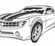 Coloring pages Transformers Movie Car