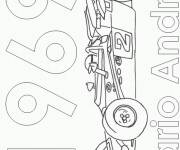 Coloring pages Almighty racing car