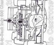 Free coloring and drawings Auto racing 34 Coloring page