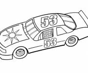 Coloring pages Auto racing to download
