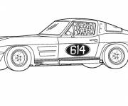 Coloring pages Coupe sports car