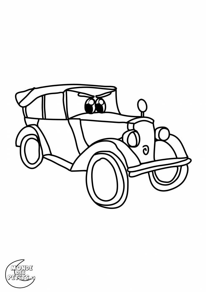 Free coloring and drawings Custom classic racing auto Coloring page