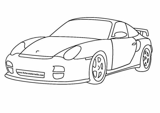 Free coloring and drawings Luxury Auto Coloring page