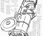 Coloring pages Old racing car