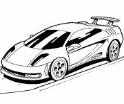 Coloring pages Vector Sports Auto
