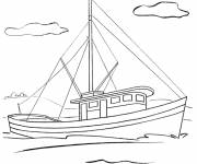 Coloring pages Sailboat online
