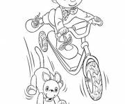 Coloring pages Scooter Animated tape