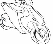 Coloring pages Coloring scooter