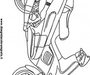 Coloring pages Scooter Majesty