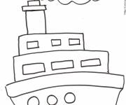 Free coloring and drawings Liner drawn by pencil Coloring page