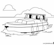 Free coloring and drawings Wooden liner Coloring page