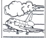 Coloring pages Nasa shuttle