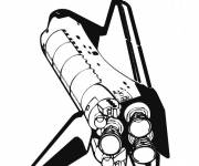 Coloring pages The Space Shuttle