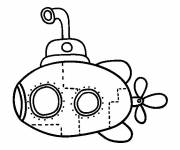 Coloring pages Maternal submarine