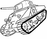 Coloring pages Coloring tank