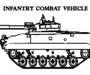 Coloring pages Combat vehicle to download