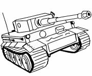 Coloring pages drawing tank online