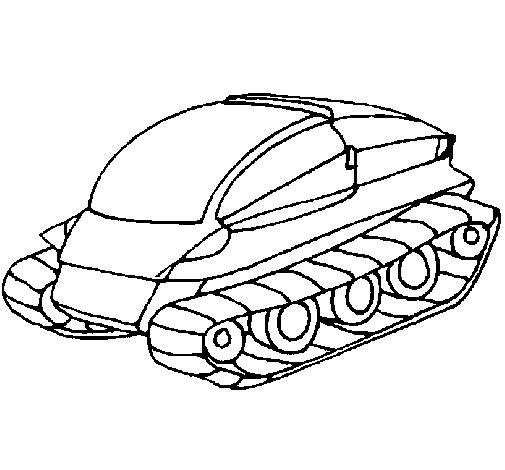 Free coloring and drawings Film Magic Tank Coloring page