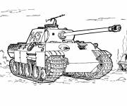 Coloring pages Military tank drawing