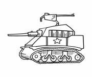 Free coloring and drawings Small Tank Coloring page