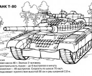 Coloring pages Tank Tahk T