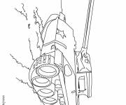 Coloring pages War vehicle tank