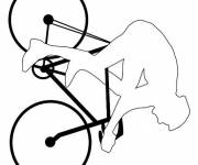 Coloring pages Bike to complete