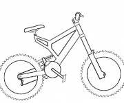 Coloring pages BMC easy bike